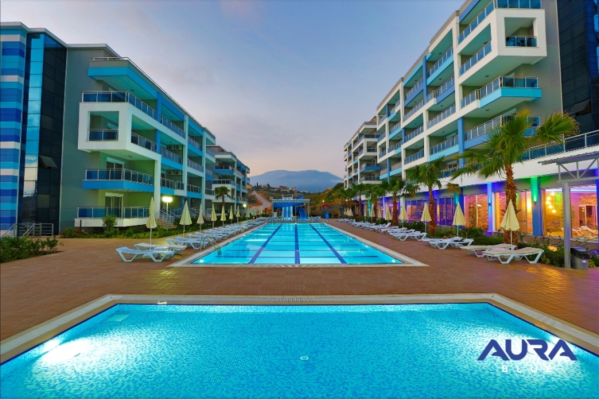 AURA BLUE APARTMENTS